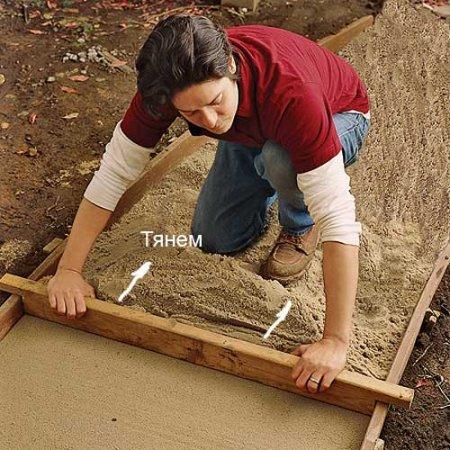 Как самому сделать садовую дорожку 6