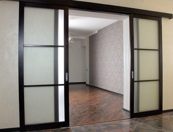 Раздвижные двери. Как установить межкомнатные двери