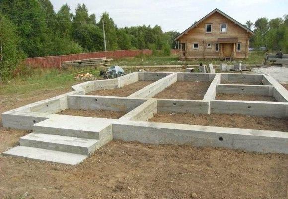 фундамент деревянного дома 1