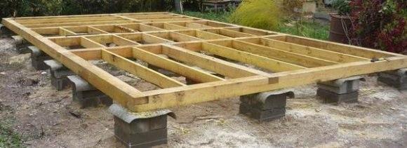 фундамент деревянного дома 2