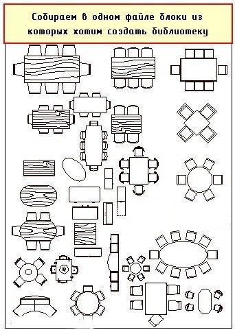 Создаем библиотеку блоков в AutoCAD