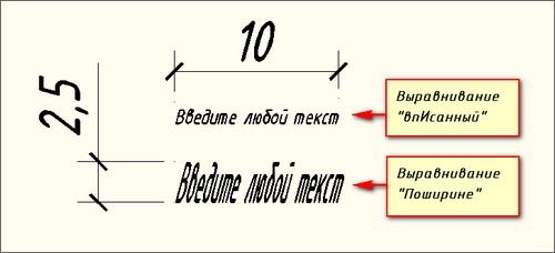 Текст в AutoCAD 9