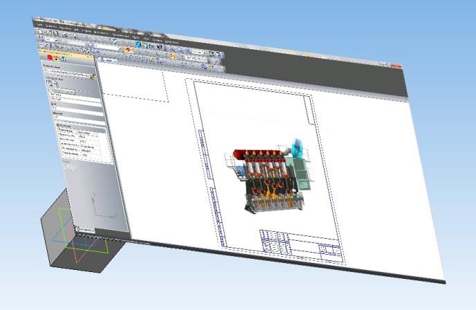 Графические объекты и пересчет параметров в KOMPAS 3D 24