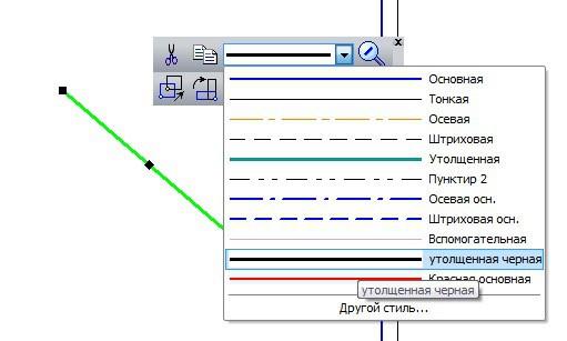 Как построить стили линий и повысить скорость работы в KOMPAS 3D 6