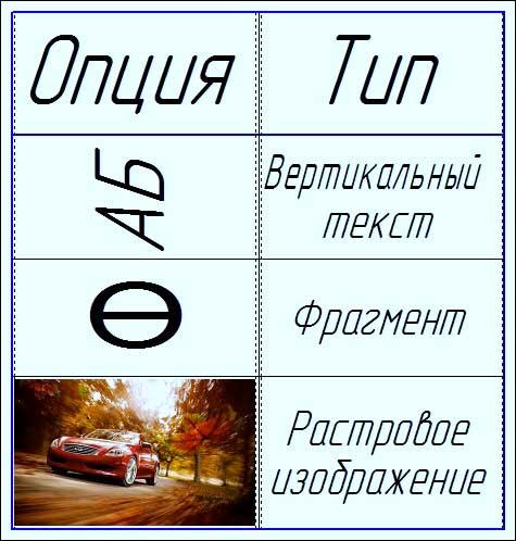 """Команда """"Ввод таблицы"""" 4"""