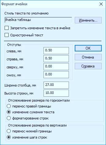 """Команда """"Ввод таблицы"""" 6"""
