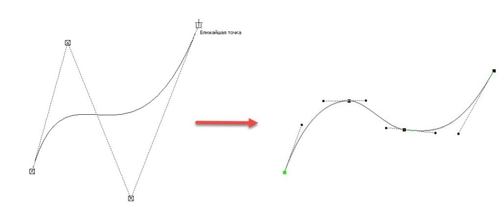 Построение геометрии с помощью непрерывного ввода объектов 7
