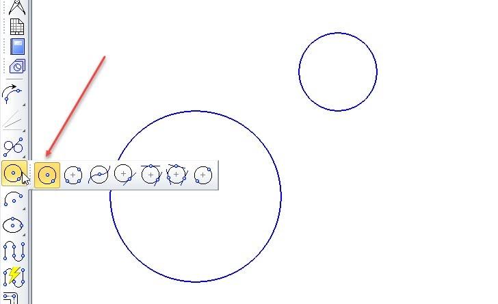 Построение отрезков и дуг в KOMPAS 3D 9