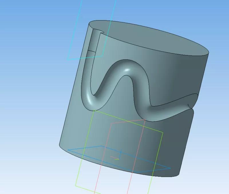 Построение паза, массив и изгиб деталей в KOMPAS 3D 14