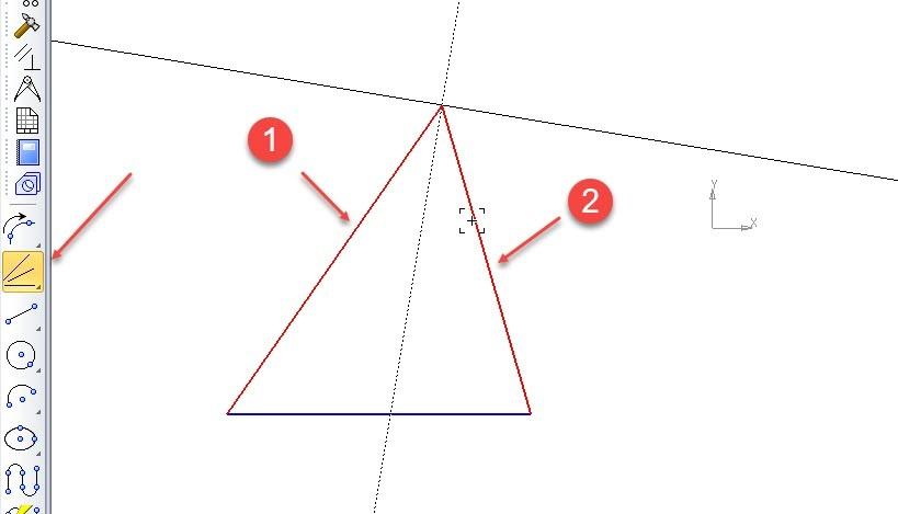 Построение точек и вспомогательных линий в КОМПАС-3D 11