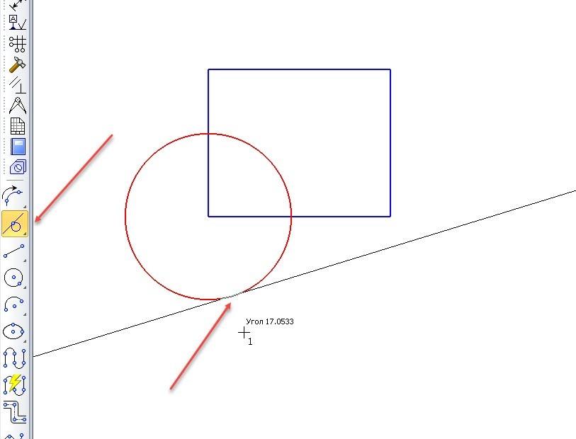 Построение точек и вспомогательных линий в КОМПАС-3D 9