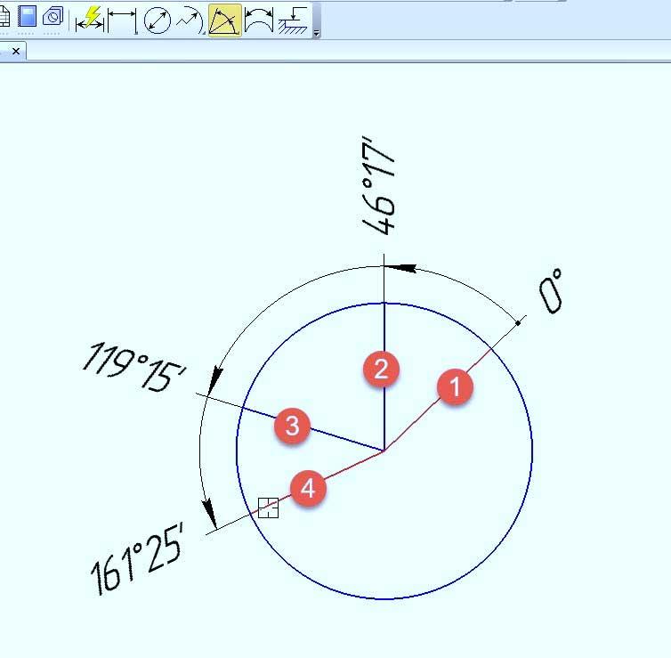 Простановка диаметральных и радиальных размеров 8