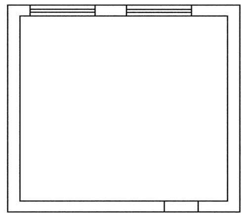План помещения, созданный на компьютере