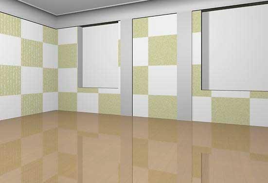 Визуализация сцены со скрытым слоем furniture (мебель) 3ds Max