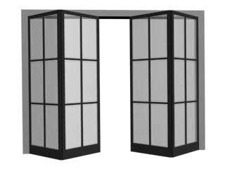 BiFoldDoor (Складные) — как двери трамвая в 3ds Max