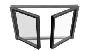 Casement (Створчатое) в 3ds Max
