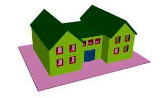 Построение Box для дома в 3ds Max