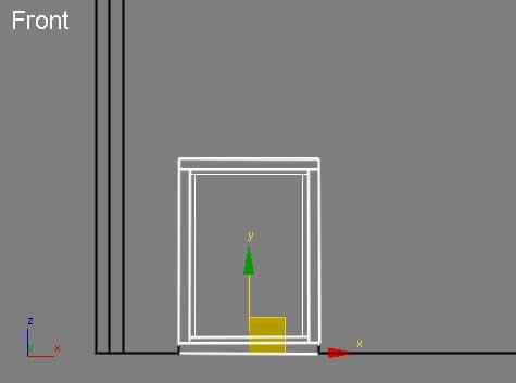 Закрепления высоты окна в 3ds Max