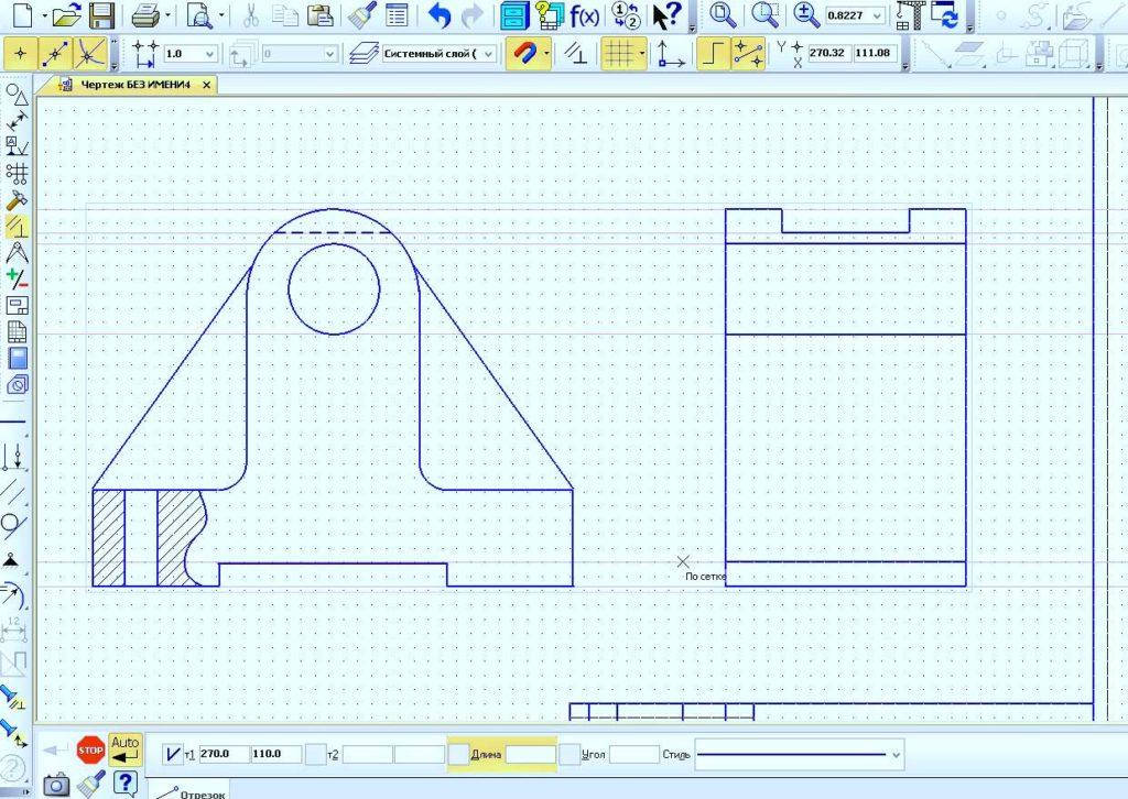Создание ссылок из символов и двухмерное проектирование 18
