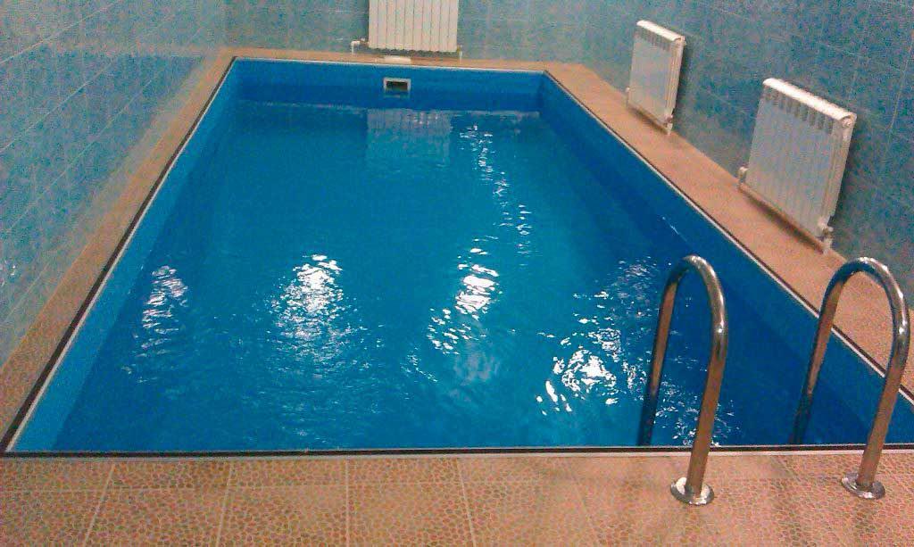 Облицовка бассейна
