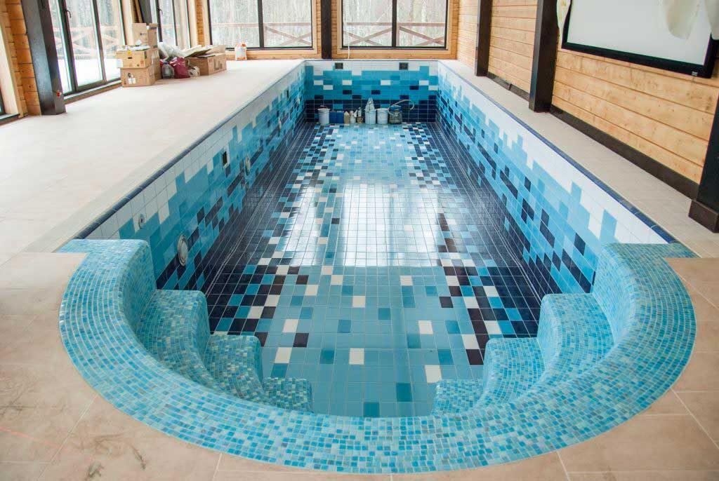 Облицовка бассейнов керамической плиткой
