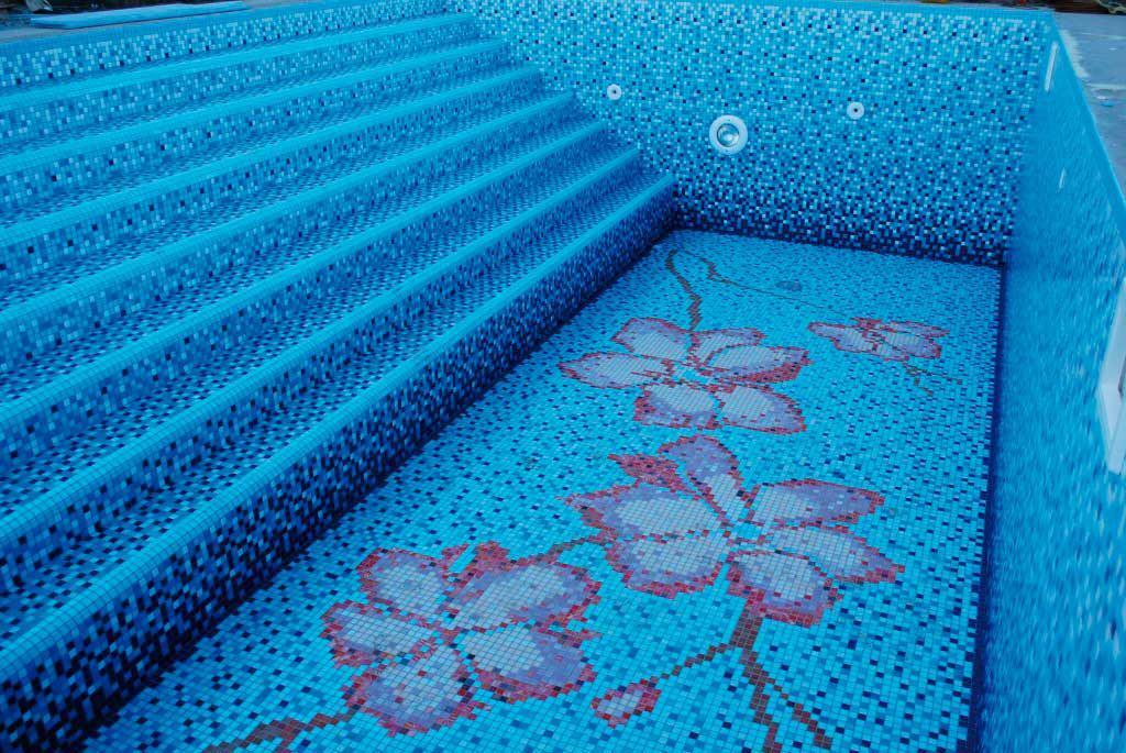 Плитка мозайка для бассейна