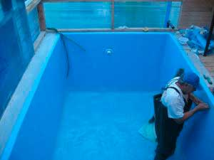 Пленка для бассейна своими руками