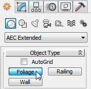 Раздел AEC Extended кнопка Foliage