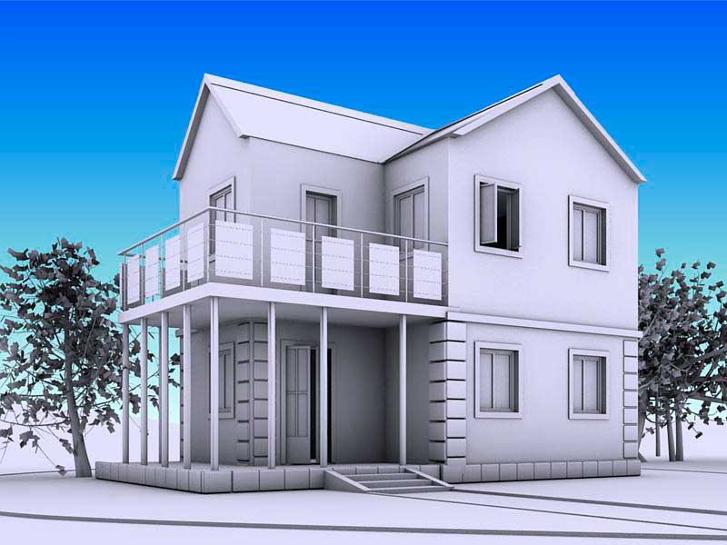 Использование архитектурных объектов в 3ds Max. Foliage