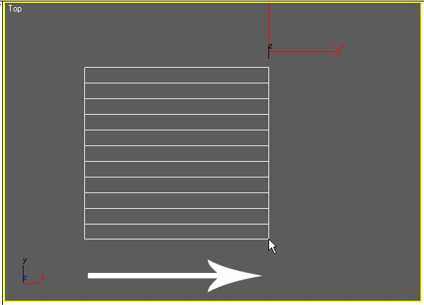 StraightStair. фиксация ширины основания лестницы в 3ds Max