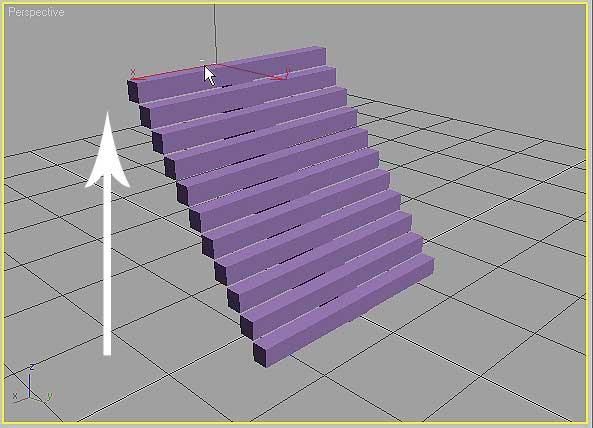 StraightStair фиксация высоты лестницы в 3ds Max