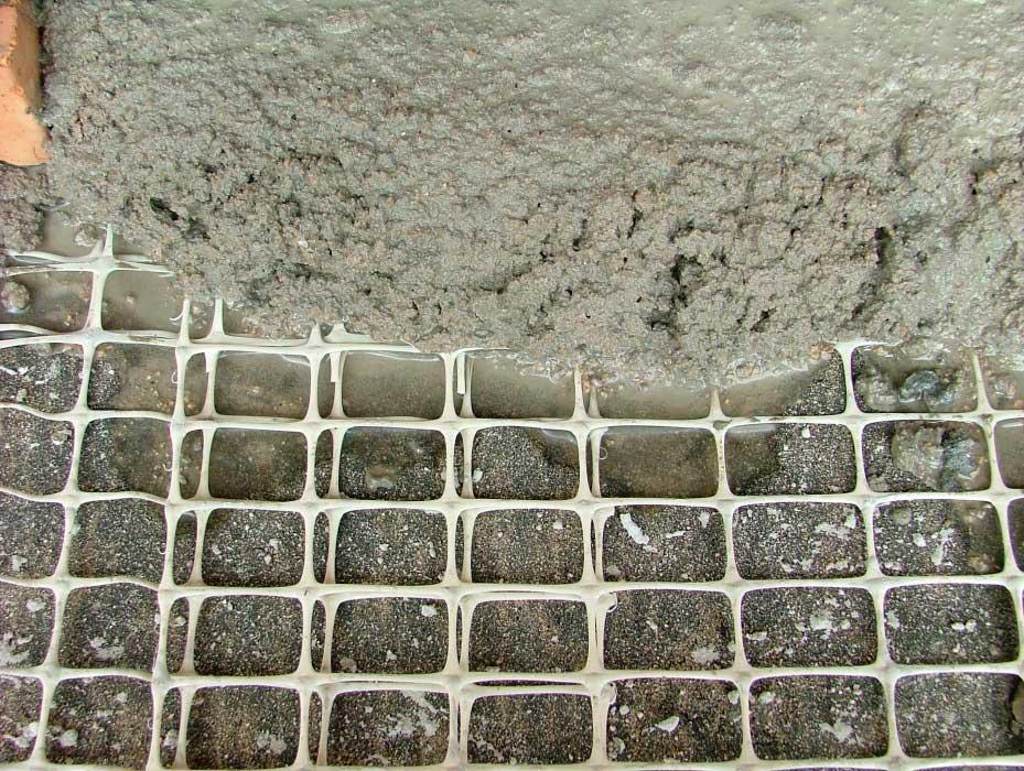 Оштукатуривание по сетке