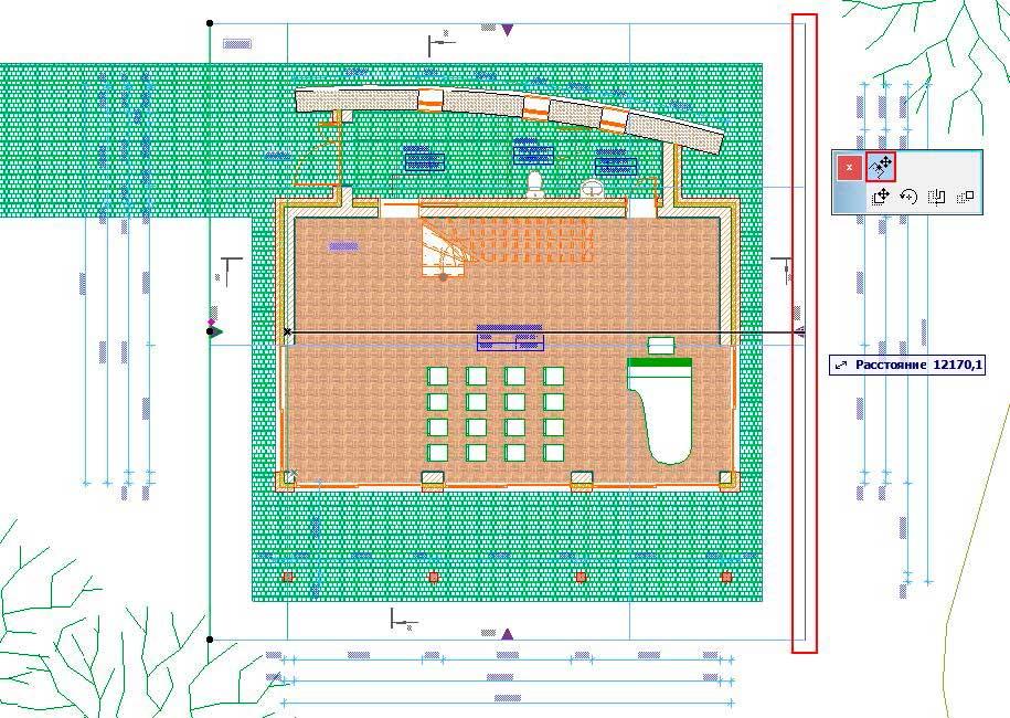 Изменение-параметров-чертежей-и-разреза,фасада-в-ArchiCAD-6