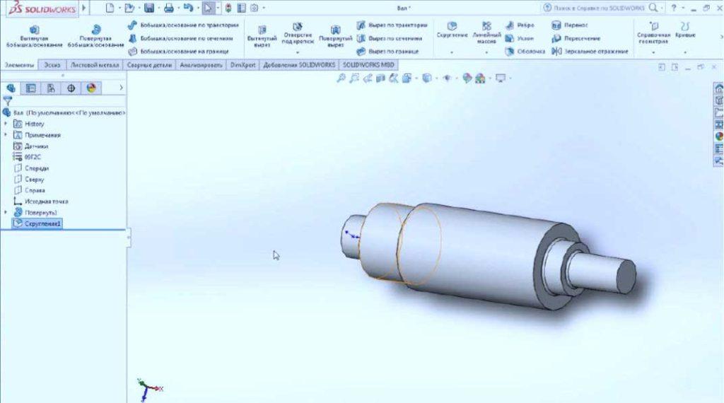 Построение-детали-в-SolisWorks-5