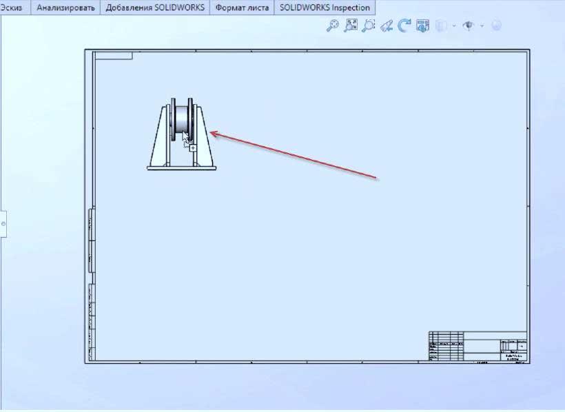 Построение-чертежей-из-3D-модели-13