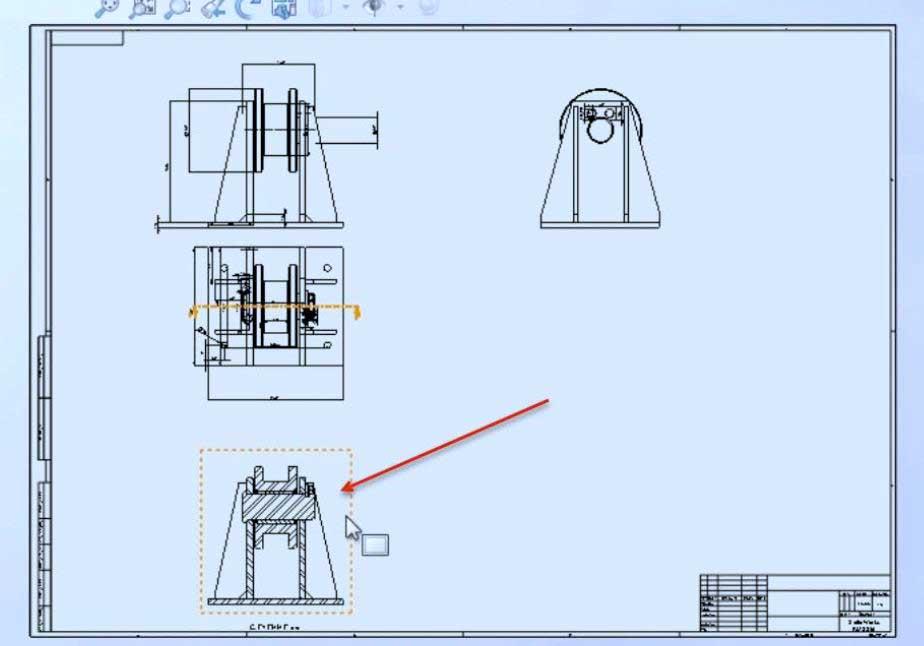 Построение-чертежей-из-3D-модели-30