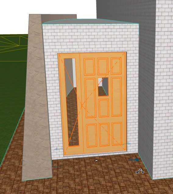 Создание-и-тиражирование-входных-и-раздвижных-дверей-в-ArchiCAD-9