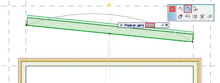 Создание-криволинейной-стены-в-ArchiCAD-7