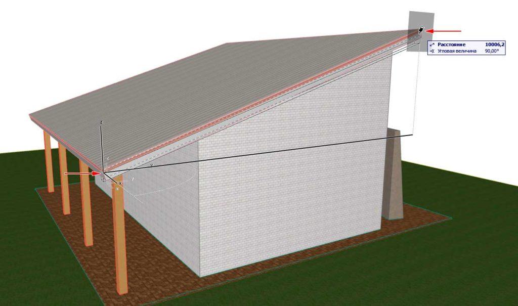 Создание-крыши-в-ArchiCAD-14
