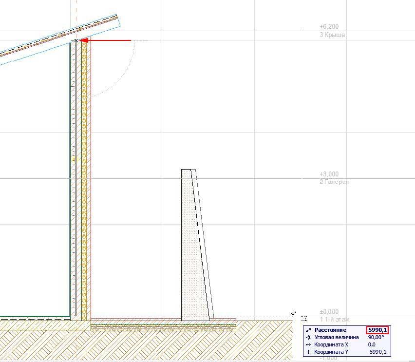 Создание-крыши-в-ArchiCAD-17