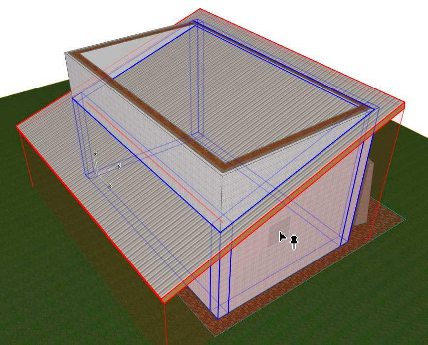Создание-крыши-в-ArchiCAD-8