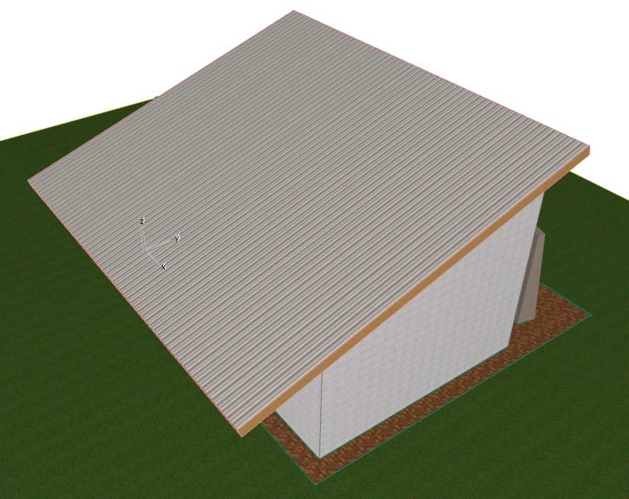 Создание-крыши-в-ArchiCAD-9