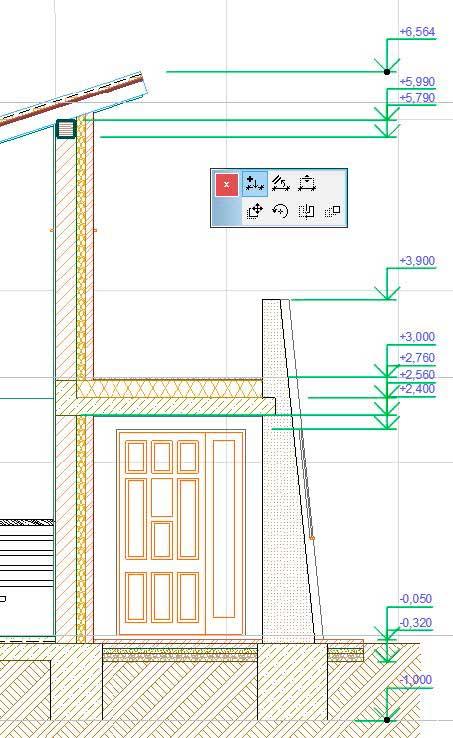 Создание-отметок-уровней-и-радиальных-размеров-в-ArchiCAD-11