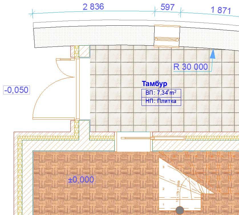 Создание-отметок-уровней-и-радиальных-размеров-в-ArchiCAD-4