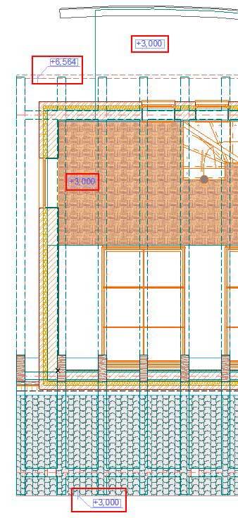 Создание-отметок-уровней-и-радиальных-размеров-в-ArchiCAD-6