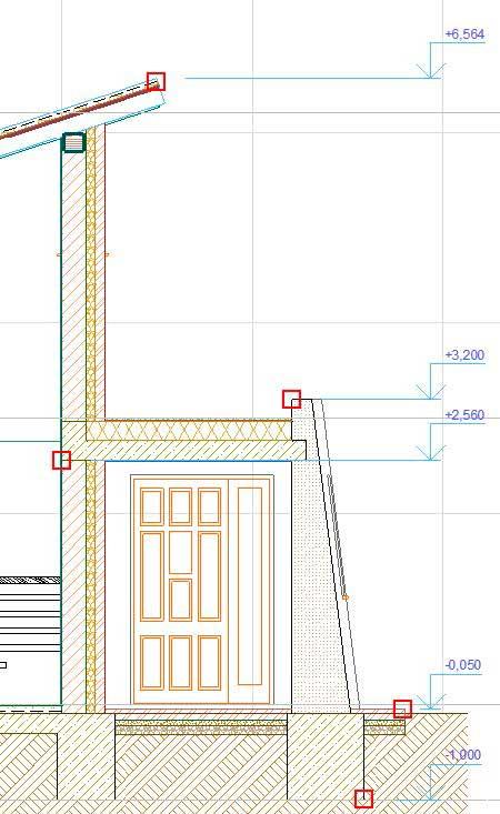 Создание-отметок-уровней-и-радиальных-размеров-в-ArchiCAD-8