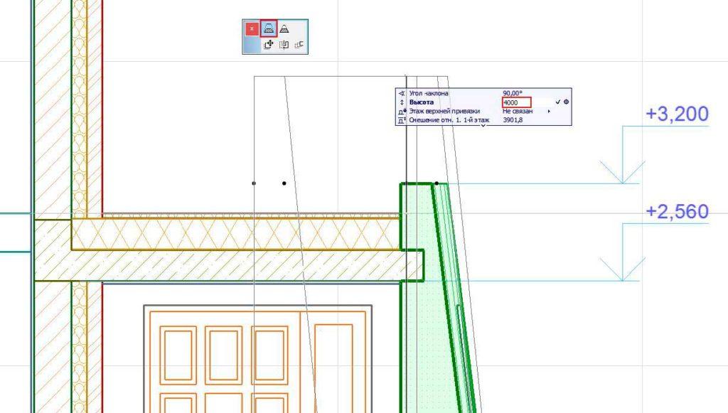 Создание-отметок-уровней-и-радиальных-размеров-в-ArchiCAD-9