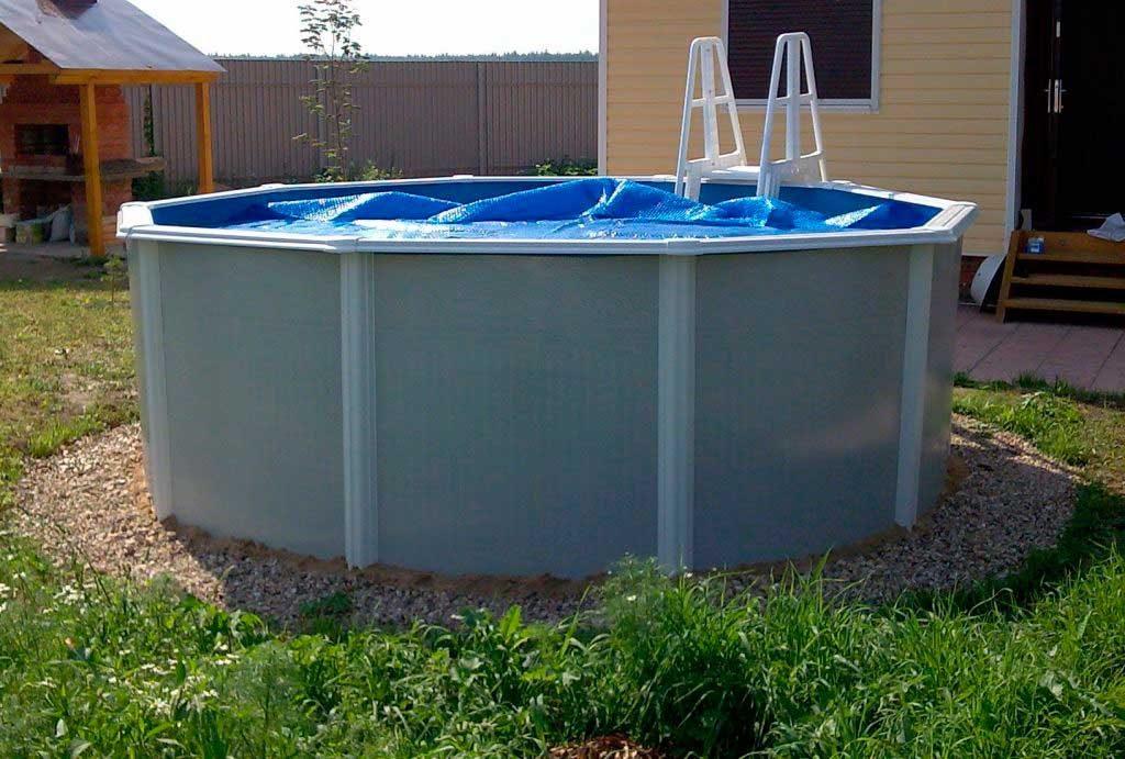 Сборно каркасный бассейн