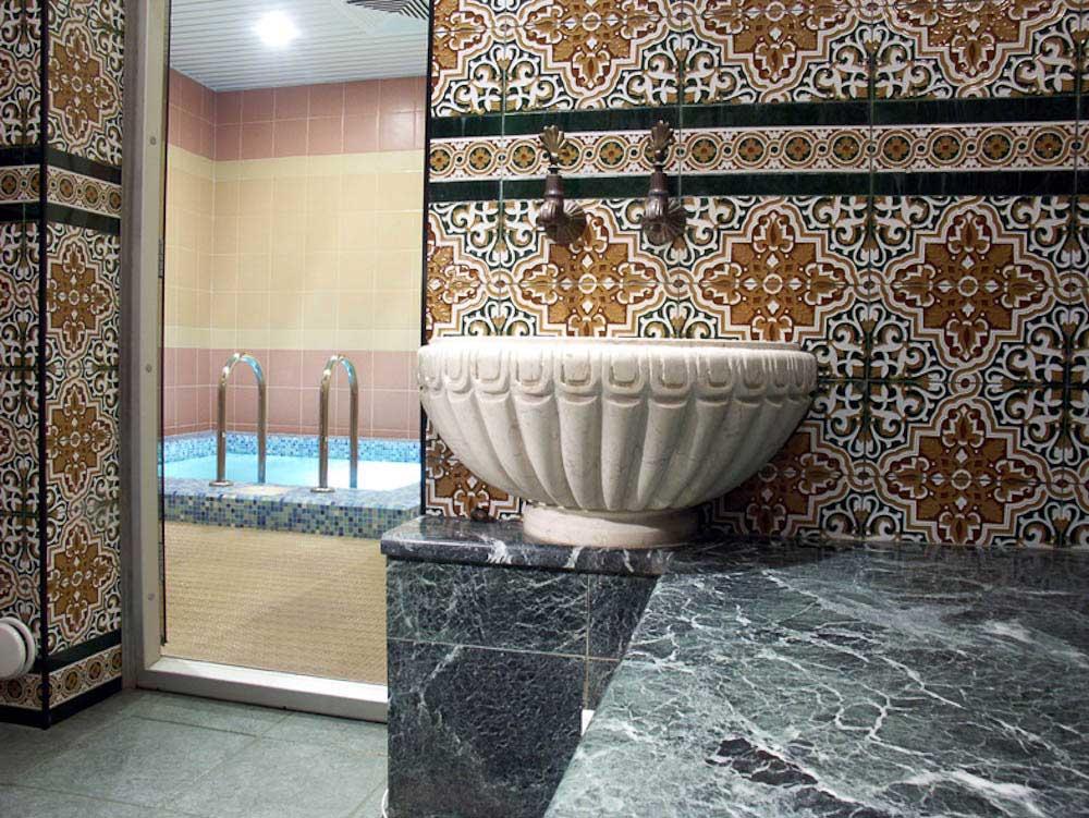 Керамическая плитка для хамам