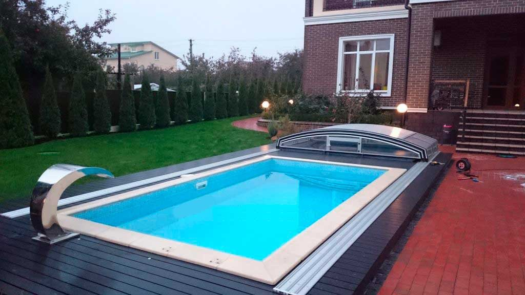Изотермическая крышка для бассейна